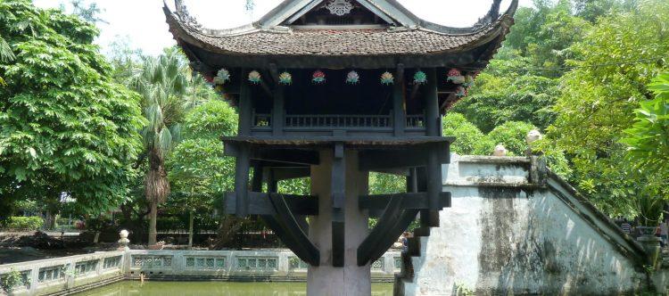 Pagoda de un pilar. Hanoi