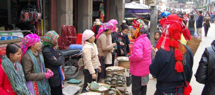 Sa Pa mercado 3