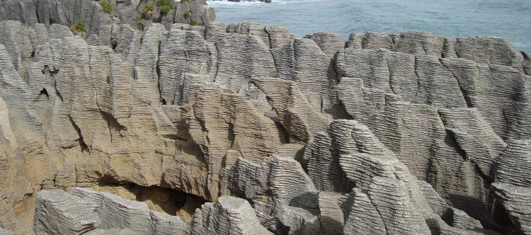 Acantilados Panckake Rocks (Punakaiki)