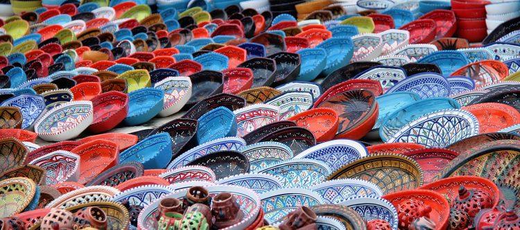 Puerto ElKantaoui cerámicas