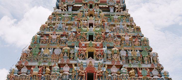 Srirangam Temple en Trichy.