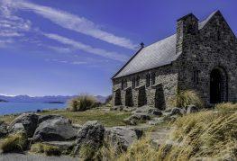 Iglesia del Buen Pastor. Lago Tekapo