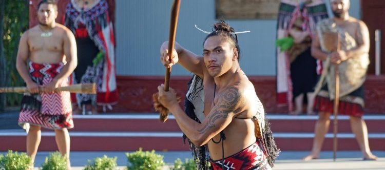 Maori. Centro cultural Te Puia, Rotorua