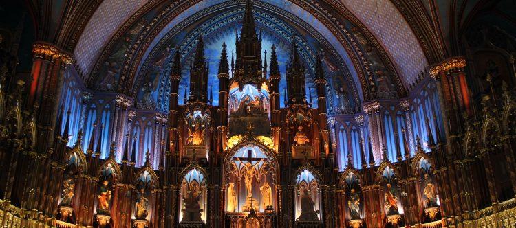 Altar Notredame Montreal