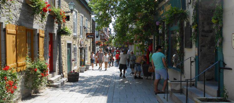 quebec-Petit-Champlain barrio